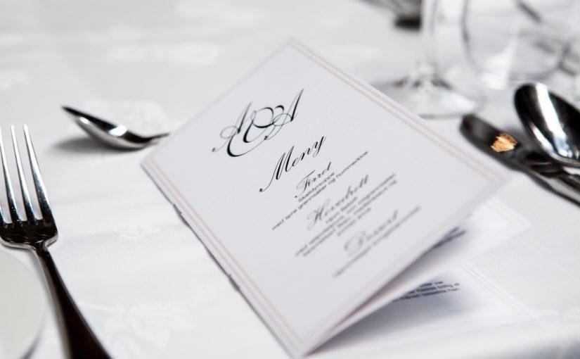 Az éttermek egyik legfontosabb ismérve: az étlap borító